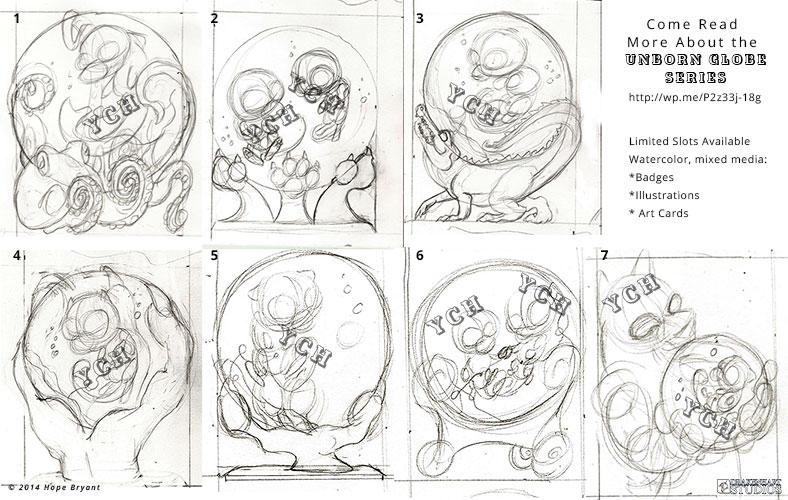 YCH Unborn Globe Series