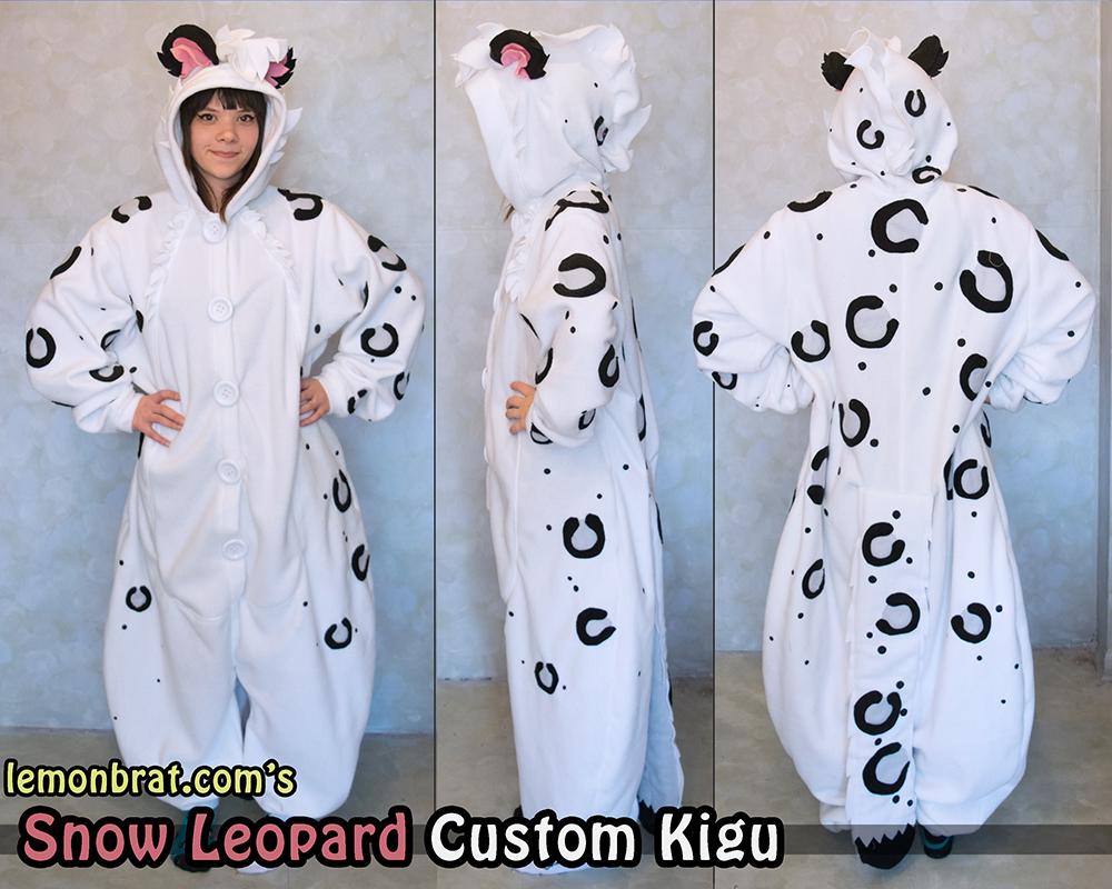 Snow Leopard Custom Kigu
