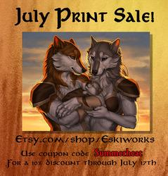 July Print Sale!