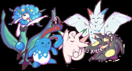 fairy gym team
