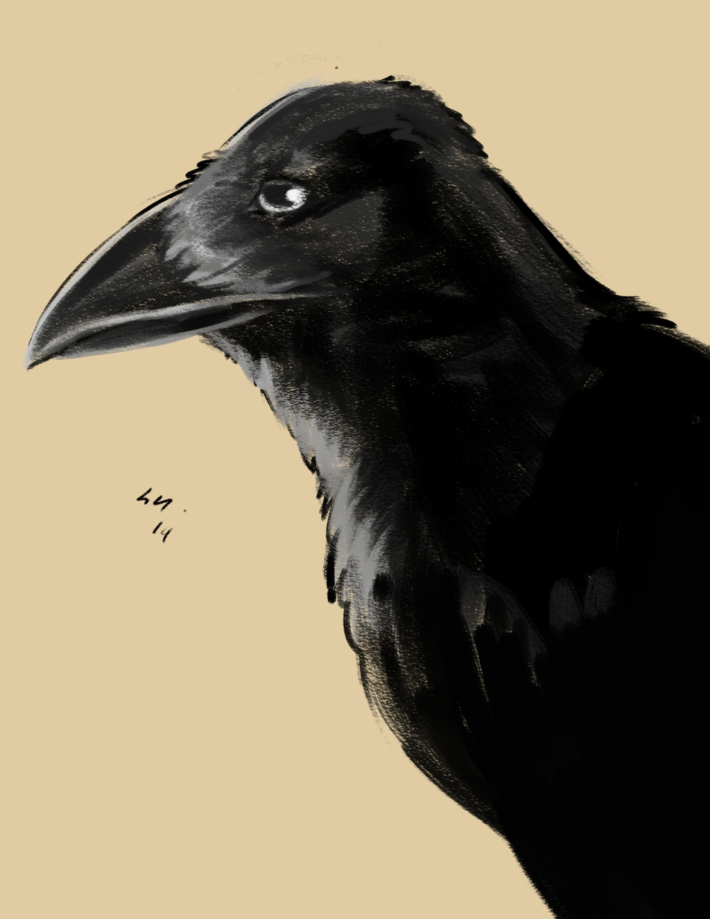 Speedpaint: Crow