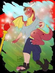 [c] Dragon Staff