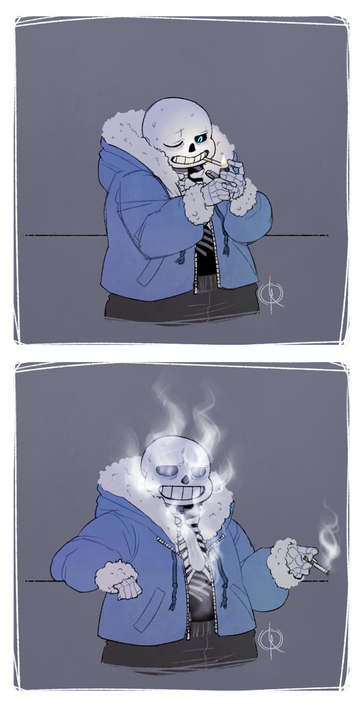 Undertale: Cigarette Break