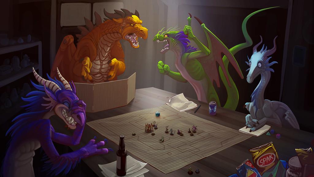 "#29: ""Fighting Dragons + Combat"""