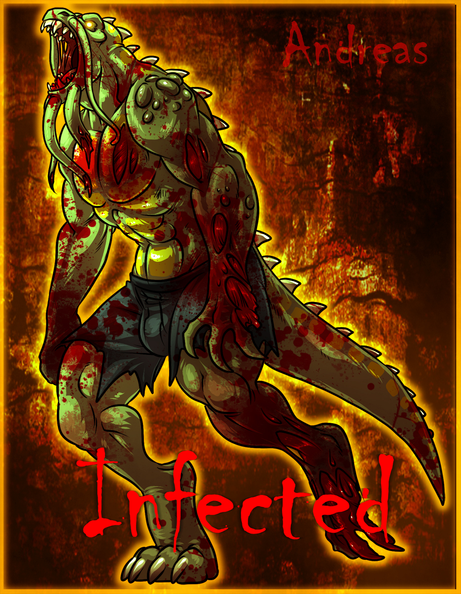Andreas as a L4D Infected!!