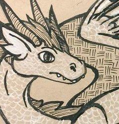 White Dragon Ebonyria