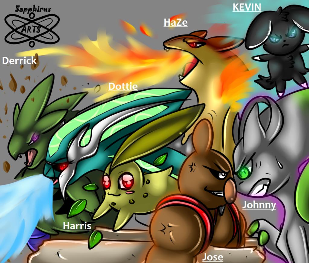 Team Pokemon +Group pic+