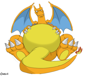 cansonzard's big belly