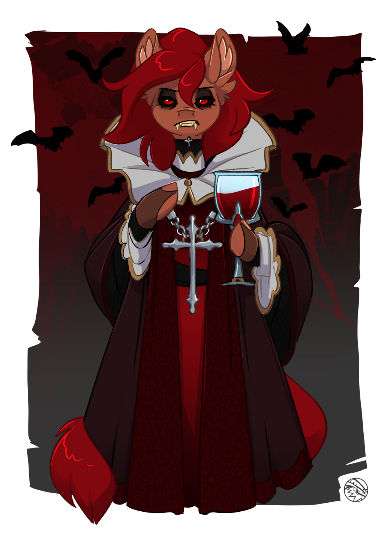 HALLOWEEN VIAL   Vampire Penny   FEARDAKEZ