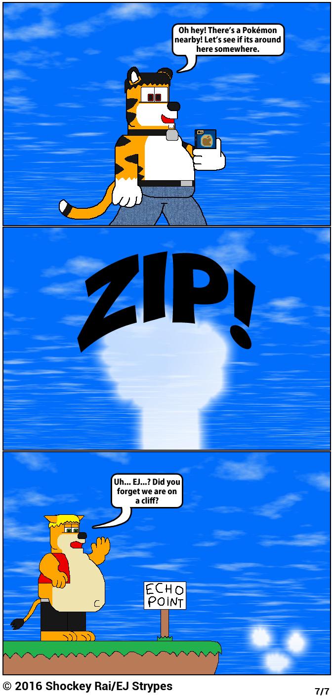 Pokémon GO: Cliffs