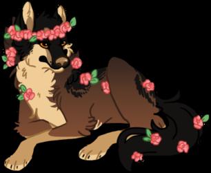[p] amongst the flowers