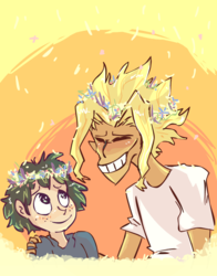 Flower Head Dad