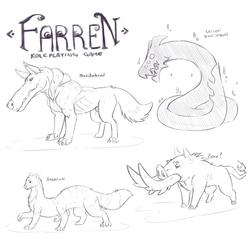 Farren Monsters [Wayfarer Project/Farren]