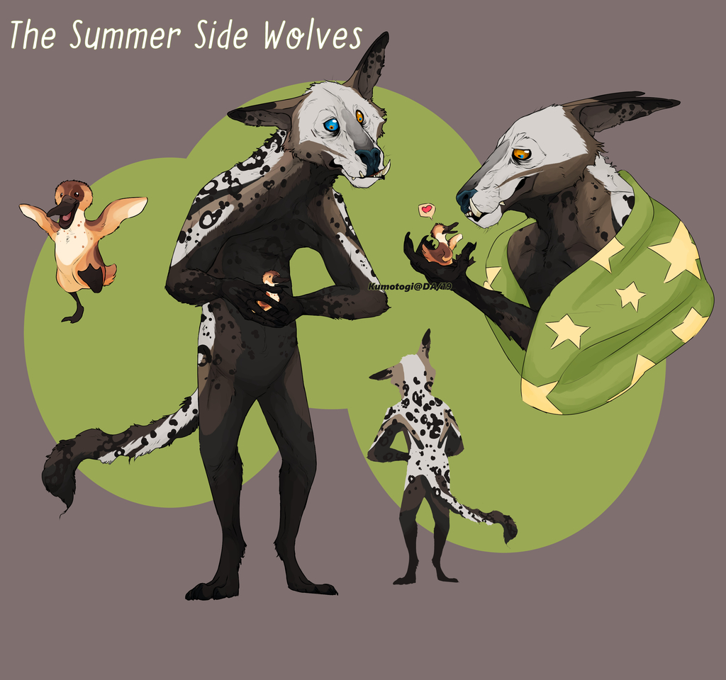 The Summer Side Wolves Adopt [OPEN]