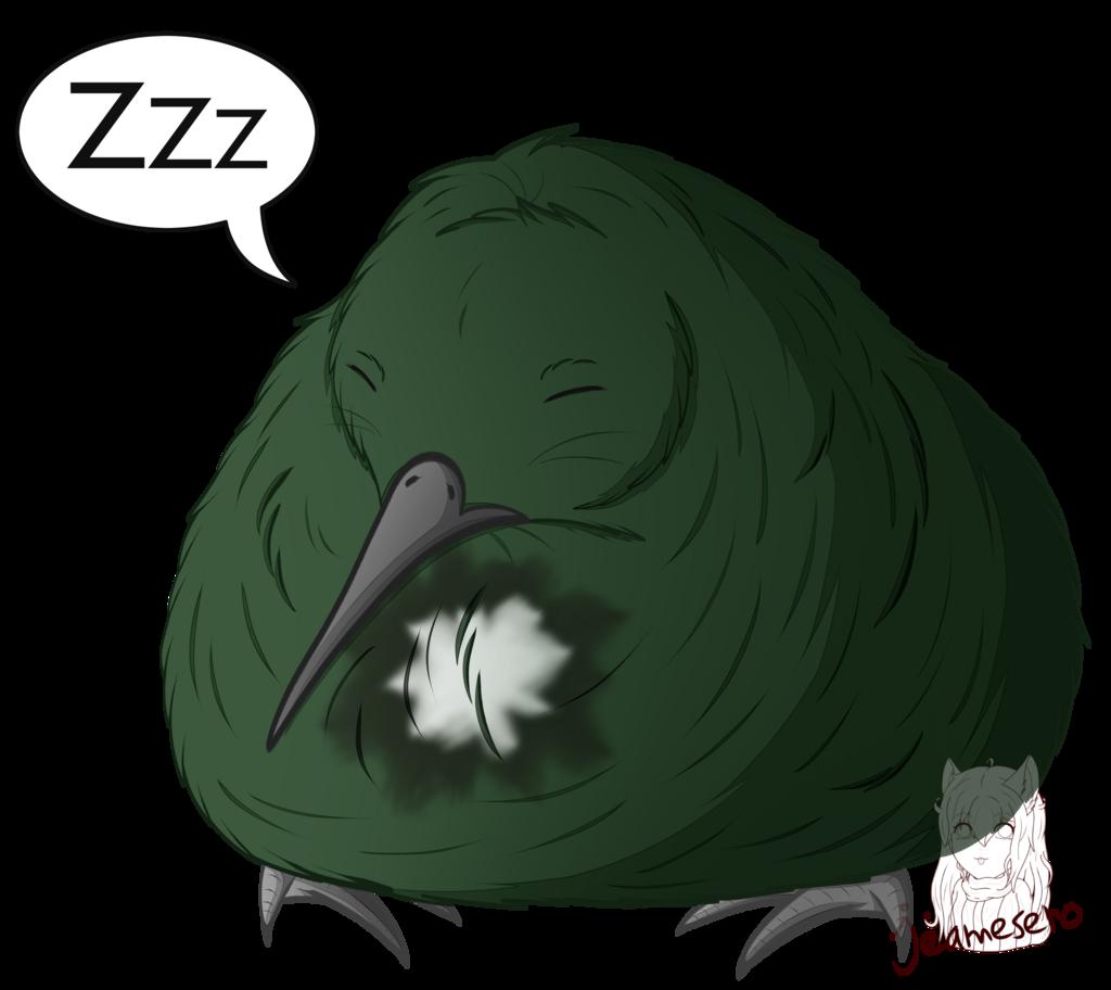 Sleepy chonky baby