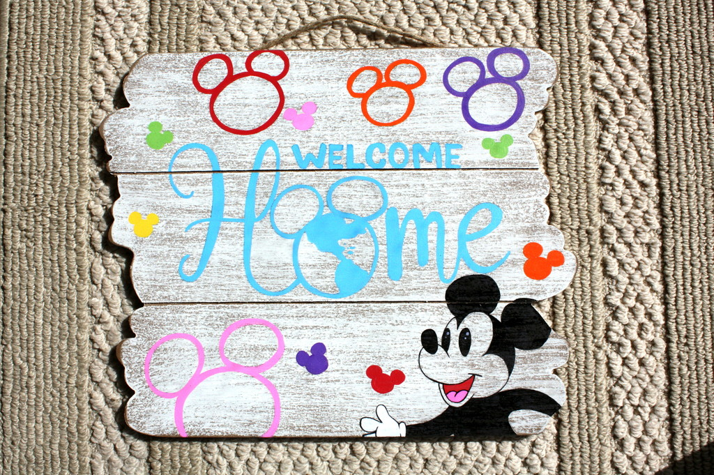 dvc welcome sign