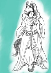 Arabian Horse (idea for new OC)