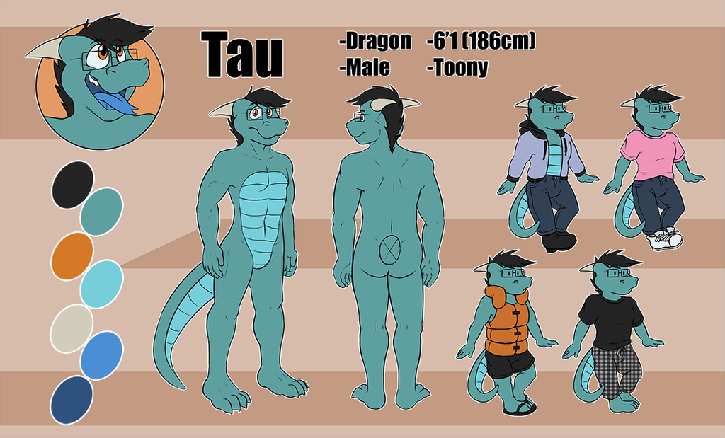 Most recent image: Commission: Tau Ref Sheet