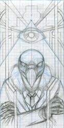 Pyramid Scheme initial sketch