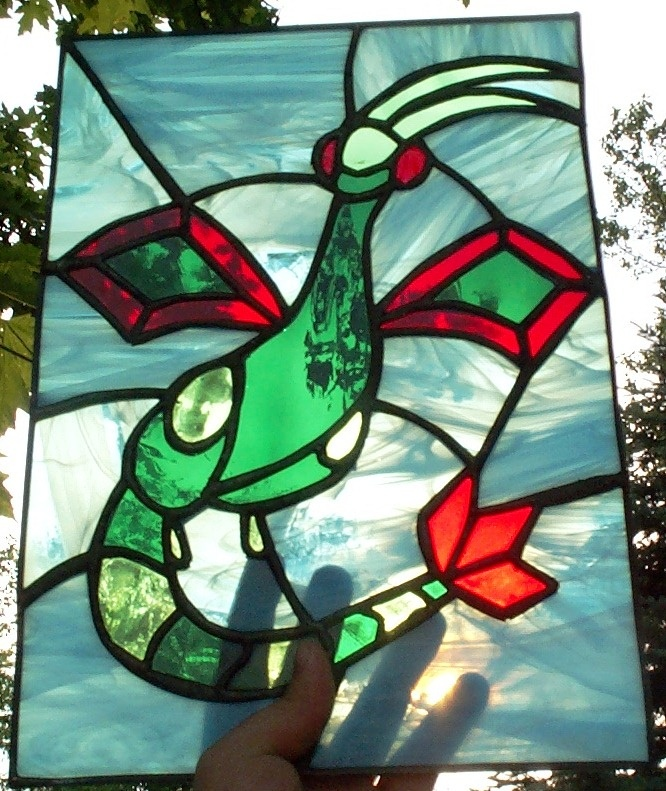 Most recent image: Stain Glass Flygon