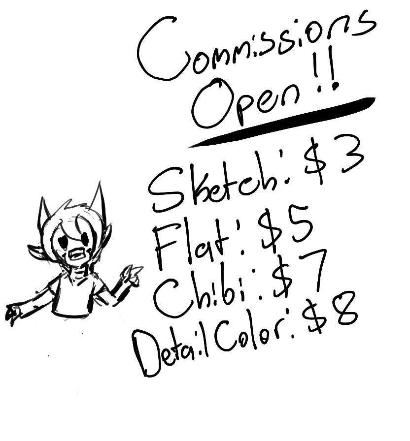Commissions Open! (Limited Time)