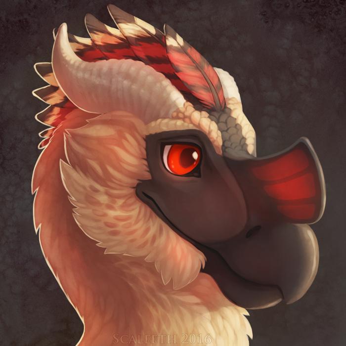 Fluffy Dragonbird
