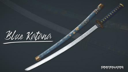Blue Katana