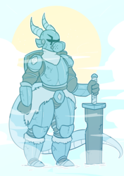 [commission] guardian dragon