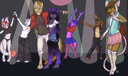 Dance YCH Finished!