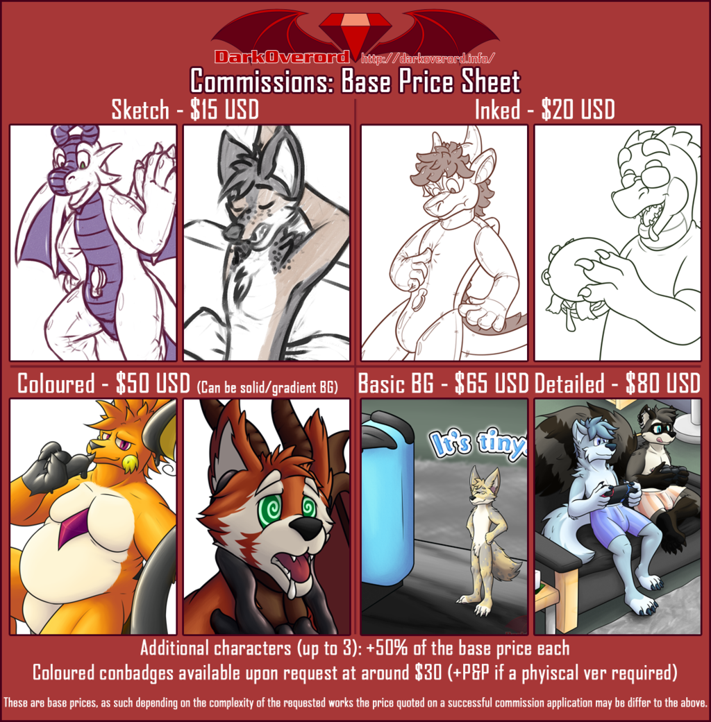 Most recent image: [COM-2019-02] Commissions Open!