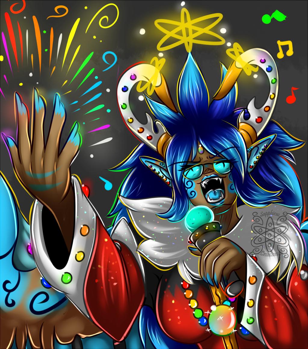 Sapphirus +Firework singing+