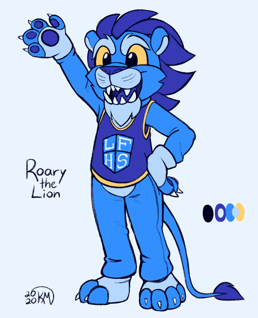 Most recent image: Roary the Lion