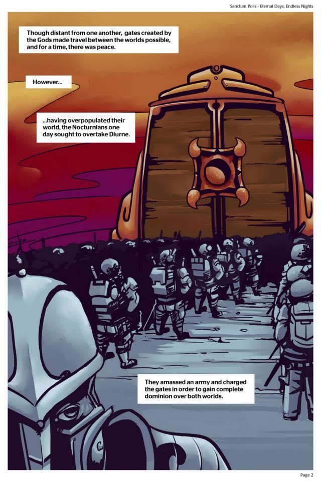 Sanctum Polis - Eternal Days, Endless Nights Page 2