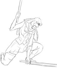 Swordswoman TangoBunny!