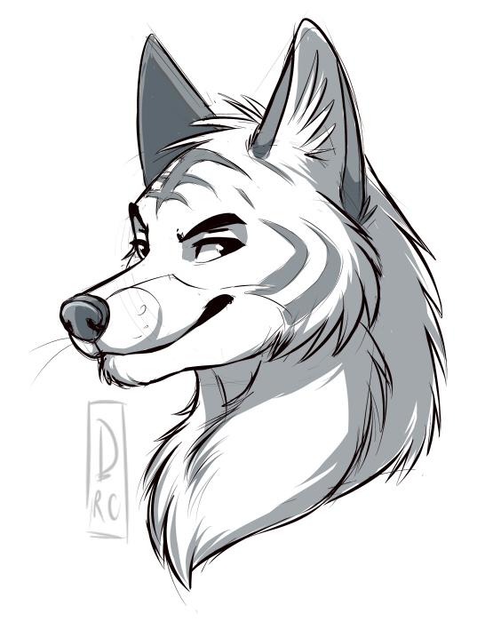 Sly fox - Art by SilverDeni