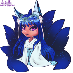 Commission: Kitsune chibi