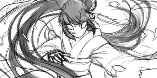 桜花衝 (Sketch)