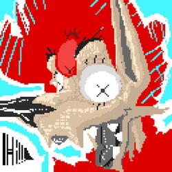 Pixel Art : Unsettled Hi