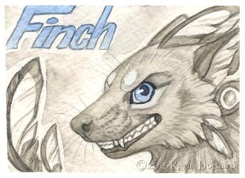 Finch Monochrome Badge