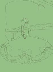 Garden Princess Lineart
