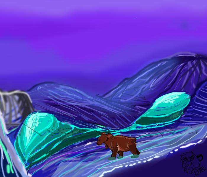 Most recent image: Bear Blue