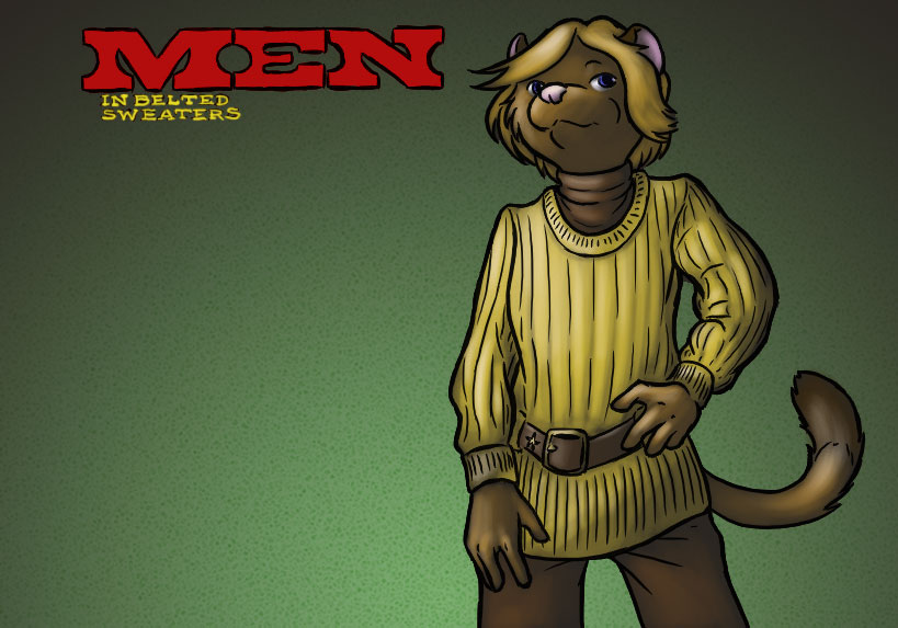 Featured image: WEASELS: In Belted Sweaters