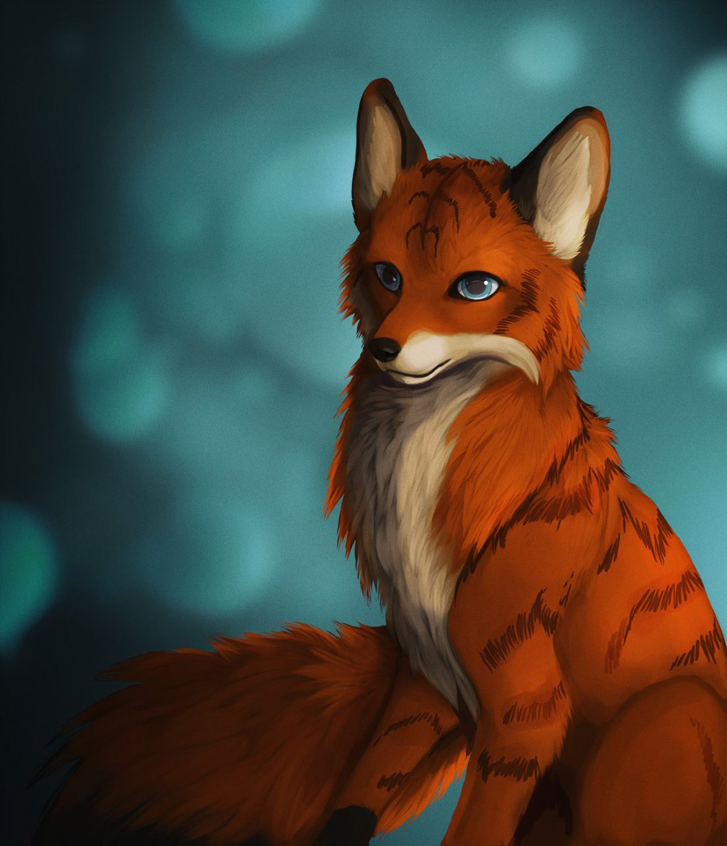 Feral Foxzen - Art by Raikhan