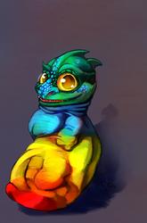 (1hr) Dragon Socks