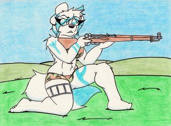 Armed Anthros: K31