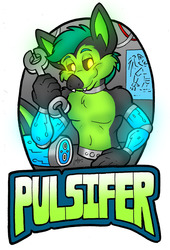 July Conbadge Exchange - Pulsifer