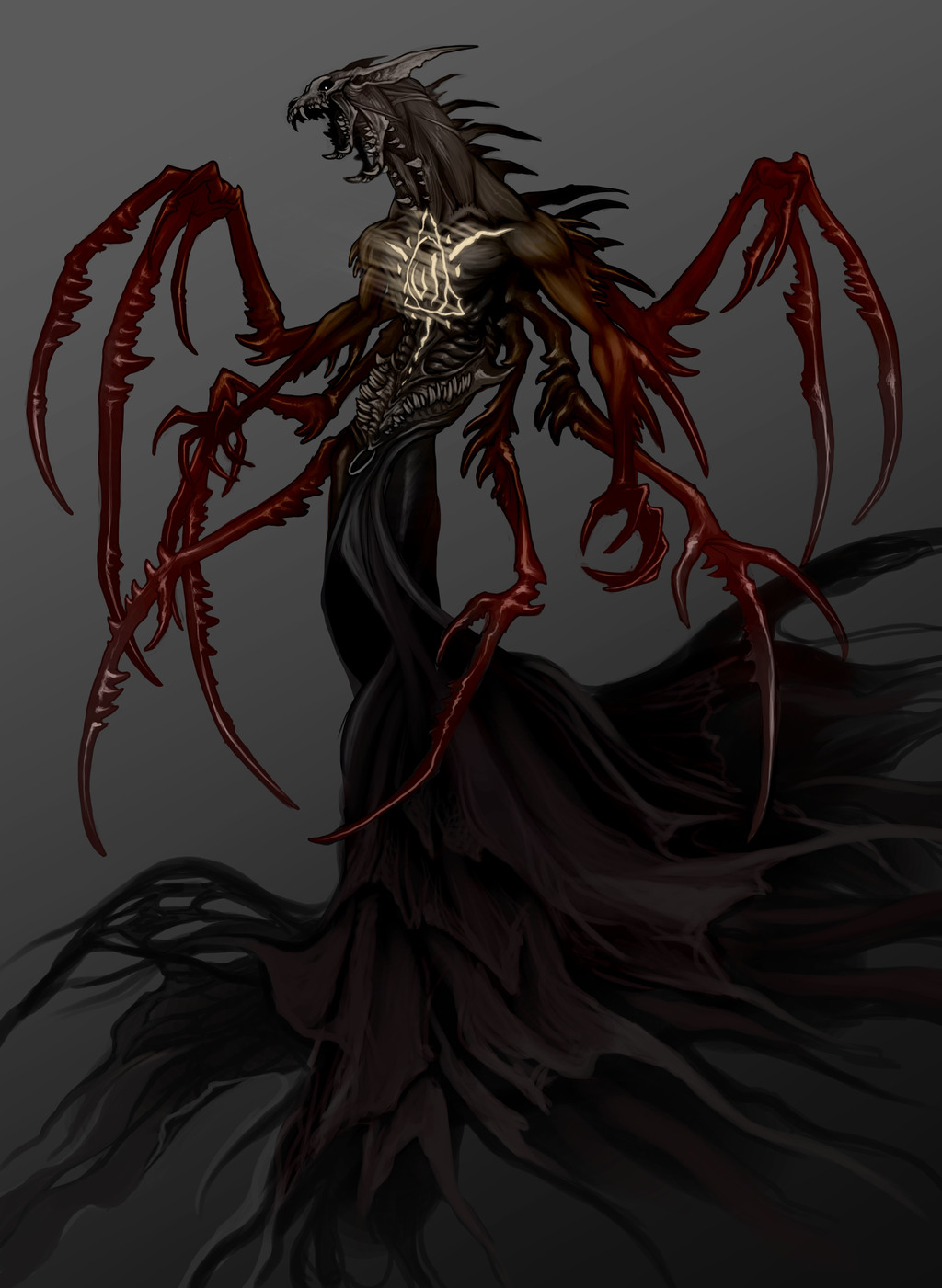 Eldanoth, demon lord of wrath