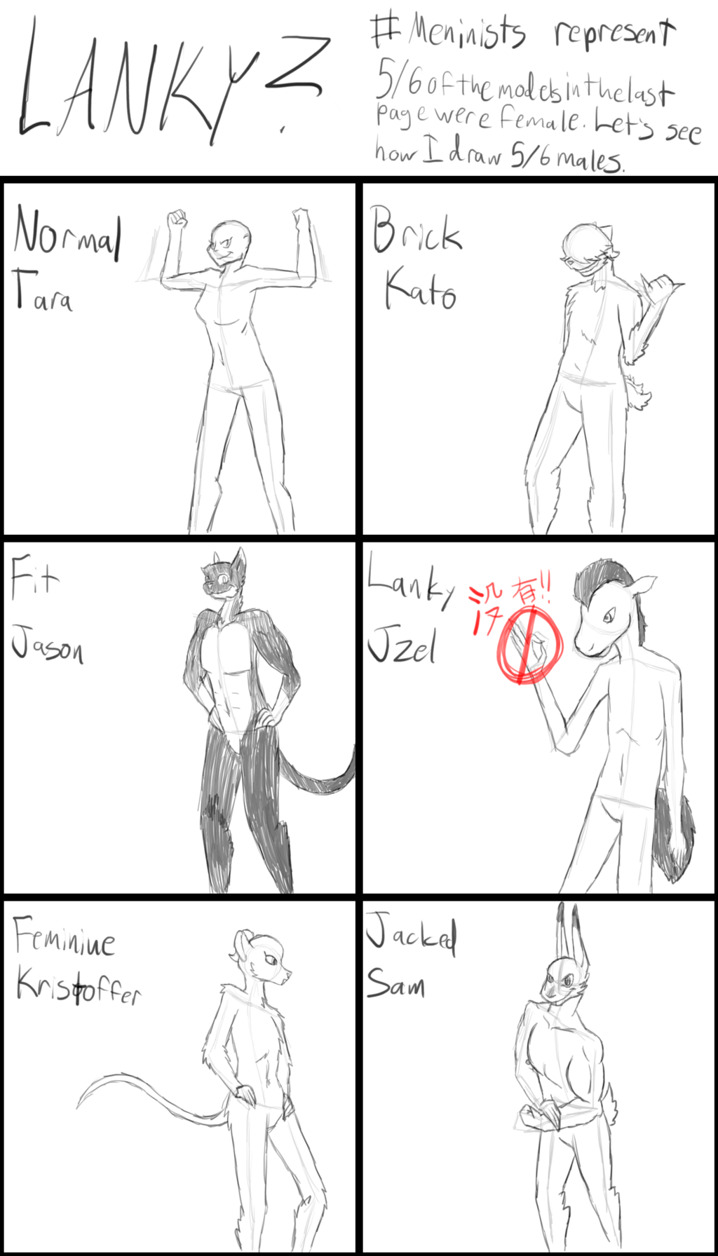 Most recent image: Critique thread: Lanky? Continued
