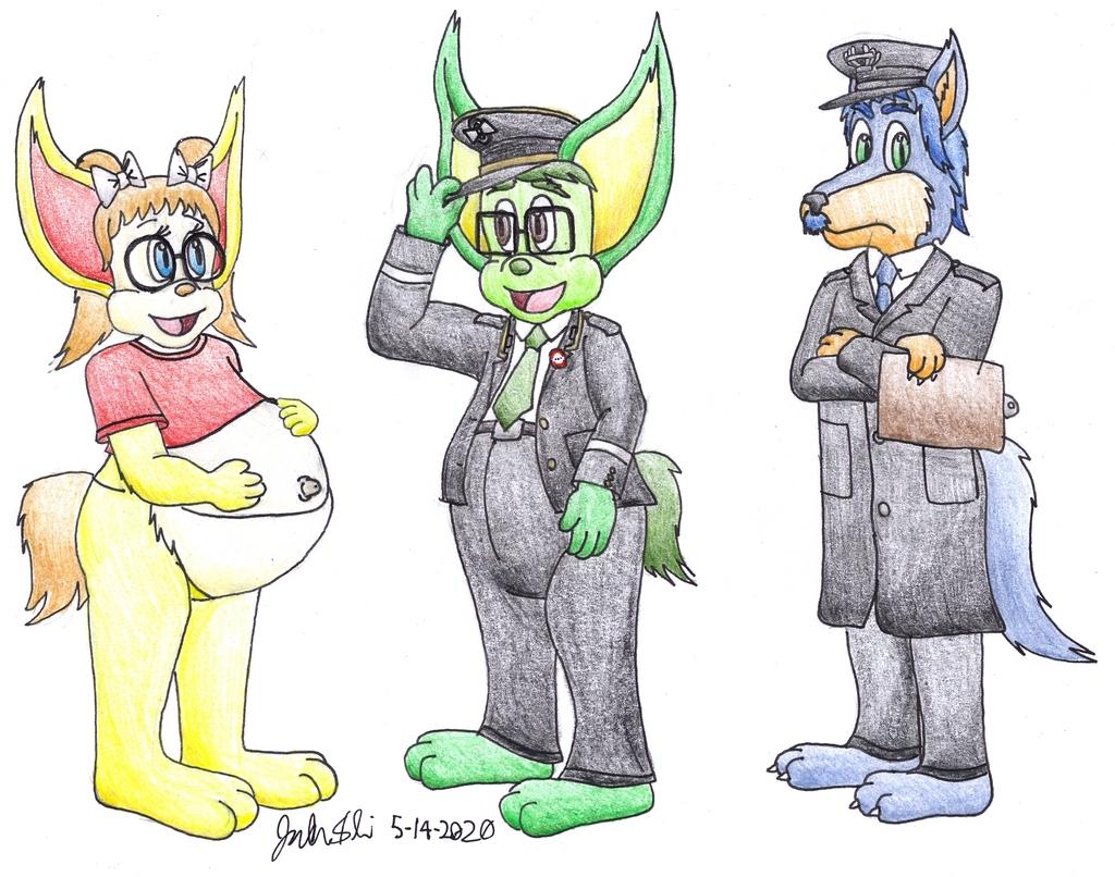 3 Main Characters