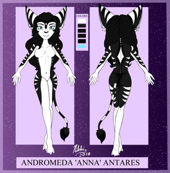 Anna Antares -Markings Ref-